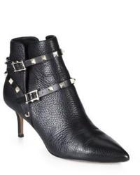 Valentino Studded Strap Booties