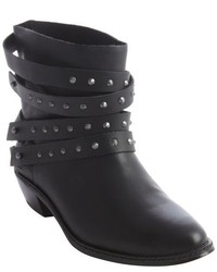Joe's Jeans Tan Leather Studded Detail Sam Ankle Boot