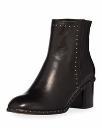 Rag & Bone Willow Studded 50mm Ankle Boot Black