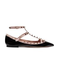 Valentino Garavani The Patent Leather Point Toe Flats