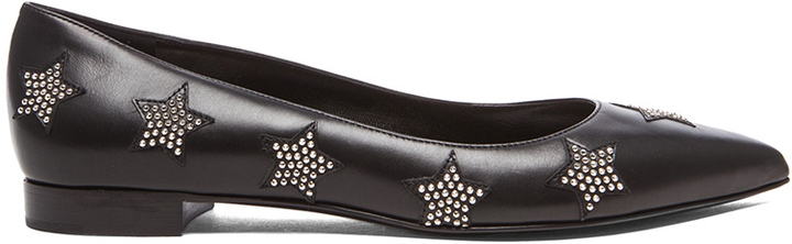 Saint LaurentLeather Flats W8wUXTB