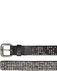 Diesel 50mm Studded Leather Belt