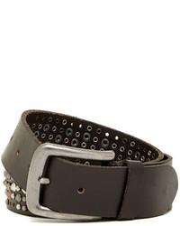 Bill Adler Assorted Stud Leather Belt