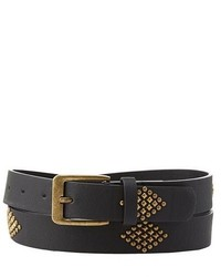 Charlotte Russe Studded Faux Leather Belt