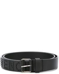 Givenchy Logo Studded Belt
