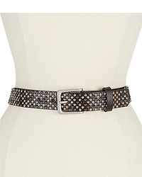 Reba Stud Leather Belt
