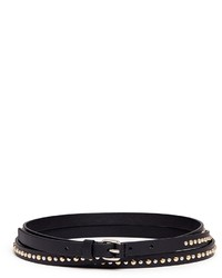 Givenchy Rivet Triple Wrap Leather Belt