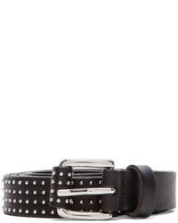 Linea Pelle Studded Skinny Hip Belt
