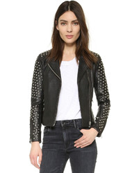 Doma Capri Powder Studded Biker Jacket