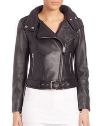 Mackage Hania Studded Moto Jacket
