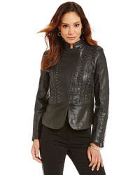 Reba Moto Leather Jacket