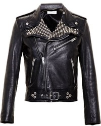 Saint Laurent Studded Biker Jacket