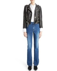 Studded leather moto jacket medium 5309391
