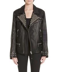 Alchemist The Bad Brain Blackmeans Leather Jacket