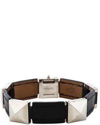 Hermes Herms Medor Leather Bracelet