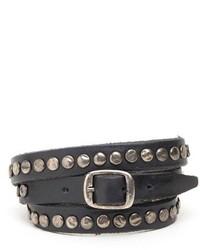Will Leather Goods Laurel Wrap Bracelet