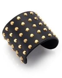 Michael Kors Michl Kors Cityscape Astor Studded Leather Cuff Bracelet