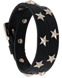 RED Valentino Star Studded Double Bracelet