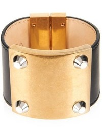 Balenciaga Stud Line Leather Cuff