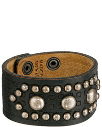 Dsquared2 Studded Leather Cuff