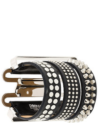 Dsquared2 Studded Tri Part Bracelet