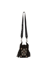 Isabel Marant Black Studded Radja Bag
