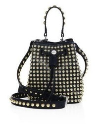 Kenzo Elite Studded Leather Bucket Bag