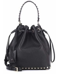 Valentino Garavani Leather Bucket Bag