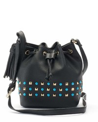 Olivia Miller Brlyn Studded Bucket Bag
