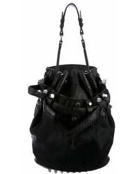 Alexander Wang Ponyhair Diego Bucket Bag