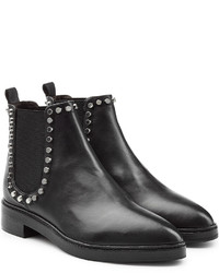 Steffen Schraut Leather Chelsea Boots With Studded Trim