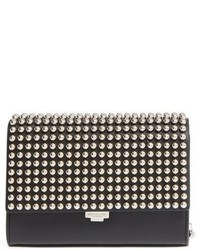 Michael Kors Michl Kors Small Yasmeen Studded Clutch Black