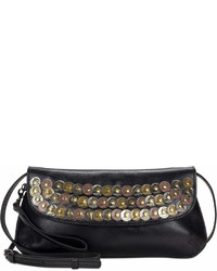 Patricia Nash Studded Coin Baku Medium Crossbody Clutch