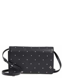 Studded leather crossbody wallet medium 6992922