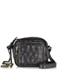Crossbody Bag 315 Alban Black Sonia Wgolden Rykiel Studs Nylon 0OnqwYB