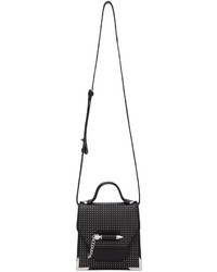 Mackage Black Mini Studded Rubie Messenger Bag
