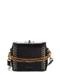Alexander McQueen Box Bag 19 Studded Leather Bag