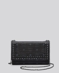 MCM Crossbody Studded Visetos Wallet