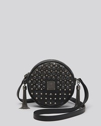 MCM Crossbody Visetos Studded Tambourine Mini