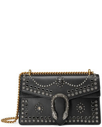 Gucci Dionysus Studded Shoulder Bag Black