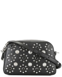 Flower studded crossbody bag medium 1192118