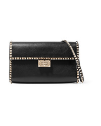 Valentino Garavani The Rockstud No Limit Textured Leather Shoulder Bag