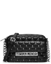 MICHAEL Michael Kors Michl Michl Kors Large Kim Studded Leather Messenger Bag