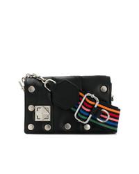 Sonia Rykiel Multicolour Strap Flap Bag
