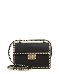 Valentino Garavani No Limit Rockstud Small Leather Shoulder Bag