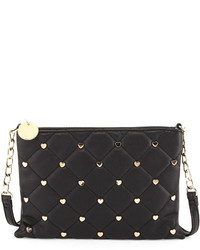 Deux Lux Quilted Crossbody Bag Black