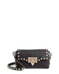 Valentino Garavani Rockstud Mini Calfskin Leather Crossbody