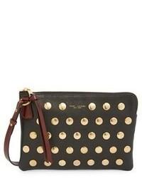 Marc Jacobs Secret Flat Stud Leather Crossbody Bag