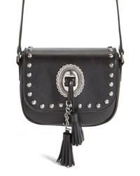 Saint Laurent Small Kim Calfskin Crossbody Bag
