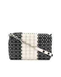 Studded bicolour shoulder bag medium 7528701